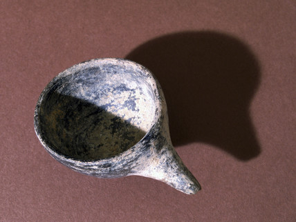 Neolithic infant feeding cup, African, c 1000-400 BC.