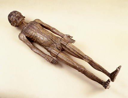 Chinese acupuncture figure, late Ming Dynasty, c 17th century.