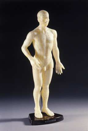 Acupuncture figure, Chinese, 1970-1976.