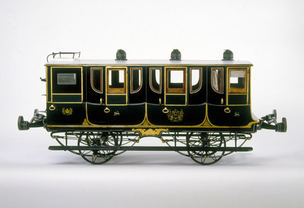 First clas carriage, North Union Railway, 1842.