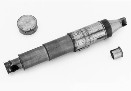 Small Varley graphic telescope, engraved