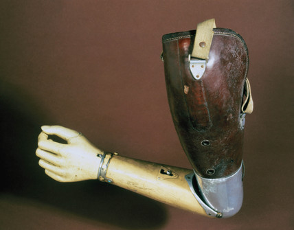 Artificial arm, 1937.