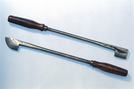 Firing irons, probably British, c 1890.