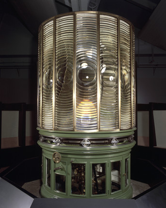 Lighthouse lantern optics from Anvil Point Lighthouse, 1881.