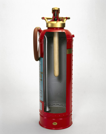 Water-type fire extinguisher, c 1950s.