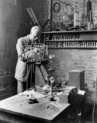 Francis William Aston, English chemical physicist,  c 1920s.