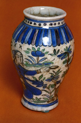 Pharmacy jar, probably 18th century.