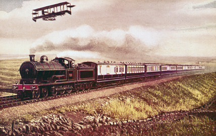 London & North Western Railway West Coast expres, c 1910.