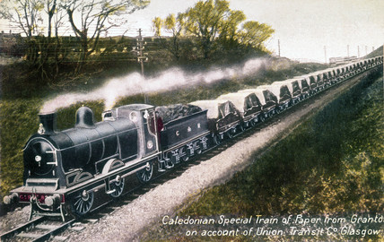 Caledonian Railway 0-6-0 goods locomotive, c 1908.