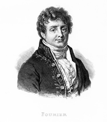 Baron Jean Baptiste Fourier, French mathematician, c 1810.