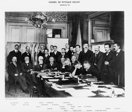 Solvay Conference, Brusels, 1911.