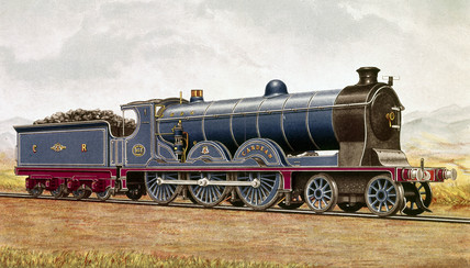 'Cardean' steam locomotive, 1906.