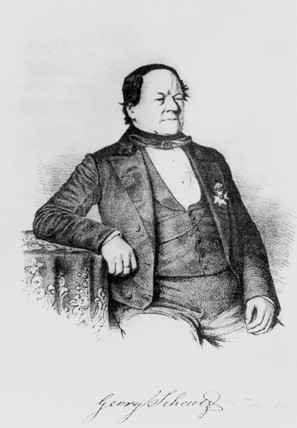 George Scheutz, Swedish lawyer, journalist and engineer, c 1830-1860.