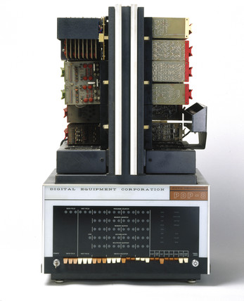 DEC PDP-8 minicomputer, 1965.