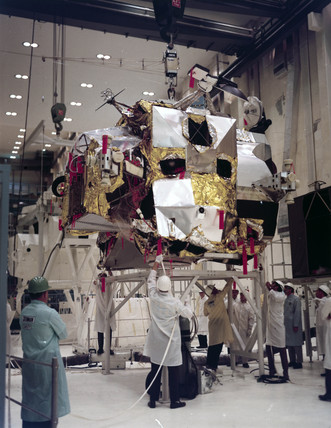 Ascent stage of the Apollo Lunar Module 3 (LM-3), 1968.