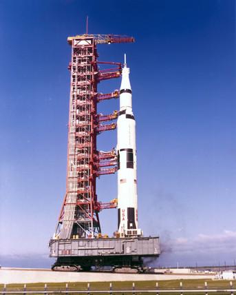 The Apollo 11 Saturn V Rocket 1969 By Nasa At Science
