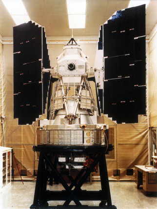 Landsat 3 satellite, 1978.