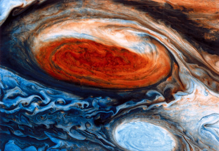 Great Red Spot on Jupiter, 1979.