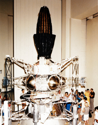Galileo spacecraft, 1983.
