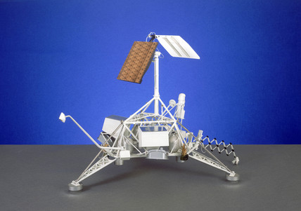 Surveyor soft-lander moon probe, 1966-1967.