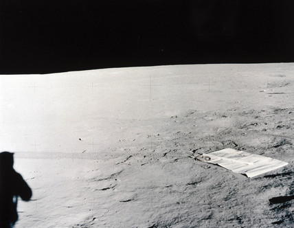 Solar wind experiment on the Moon, 1969-1972.