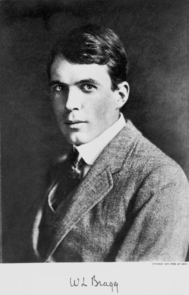 William Lawrence Bragg, Australian-born British physicist, 1920s.
