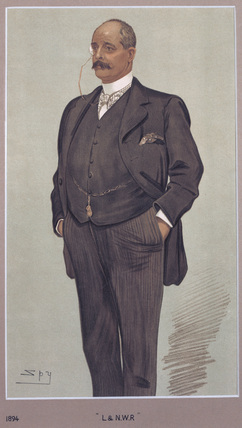 Sir Frederick Harrison, LNWR General Manager, 1894.