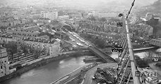 360 degree crane view of Bath in 1971