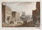 High Street and White Lion Hotel, Bath 1804