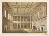 Inside the Assembly Rooms, Bath 1805
