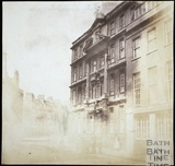 Dr. Bave's House, Lower Borough Walls, Bath 1849
