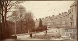 Road improvements at Somerset Place, Bath 1902