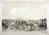 Approach to Bath Station from the east, Bath c.1840