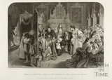 James II receiving news of the landing of the Prince of Orange