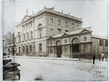 The Guildhall before side wings have been built, Bath c.1890