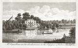 Alexander Pope's House in Twickenham, in the Possession of Welbore Ellis Esq.