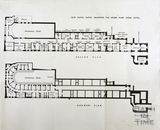 Plan of the New Royal Baths adjoining the Grand Pump Room Hotel, Bath