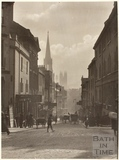 View of Broad Street from George Street, Bath c.1890