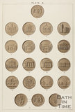 A selection of Bath tokens