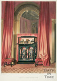 Black Cabinet in Crimson Drawing Room 1844