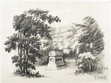 The Tomb of Mr. Beckford's favourite Dog 1844