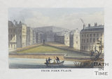 Green Park Buildings and Seymour Street from Park Place, Bath c.1827