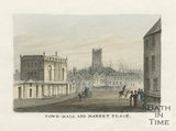 Guildhall and Market Place (High Street) c.1827