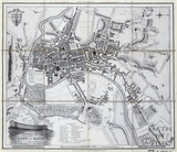 A New and Correct Plan of the City of Bath 1810