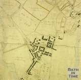 Plan of the Parish of Walcot 1740 - detail
