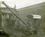 Steam crane at Stothert & Pitt Newark Works c.1920