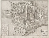 Plan of the City of Bath A.D. 1717