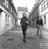 Lord Snowdon and Adam Fergusson at St Anne's Place March 1972