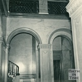 The entrance hallway, Wood House, Twerton c.1964