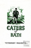 Advertisement for Caters of Bath